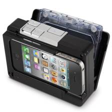 Icarta Ipod Stereo Dock And Toilet Paper Holder - Icarta-ipod-dock-and-toilet-roll-dispenser